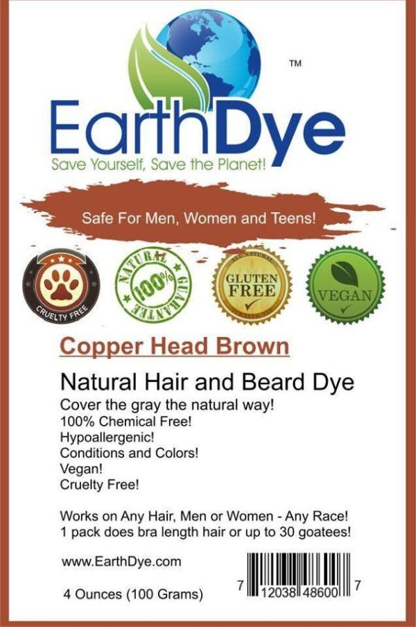 Copper Brown Auburn Natural Hair Dye