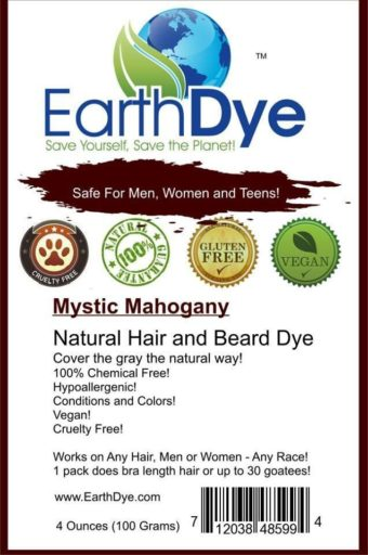 mystic mahogany natural hair dye